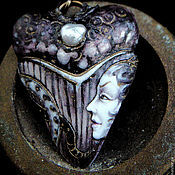 """Украшения ручной работы. Ярмарка Мастеров - ручная работа Серьги """"The Sea Serpent"""". Handmade."""