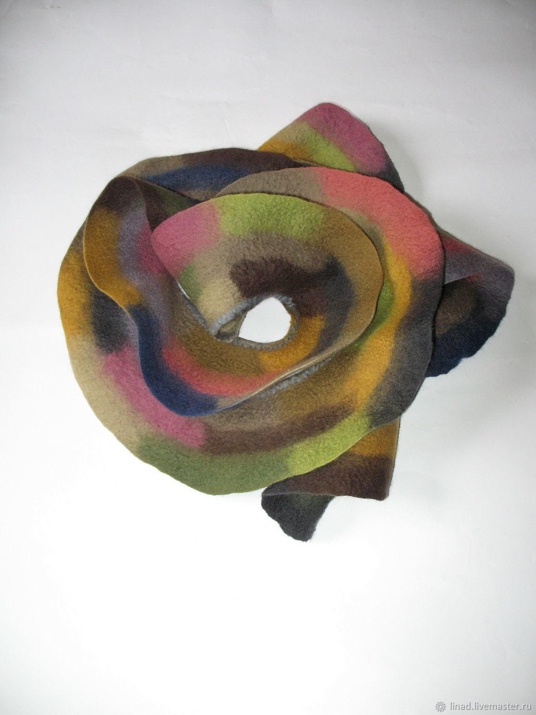 Scarf, scarf, collar felted'.', Scarves, Kherson,  Фото №1