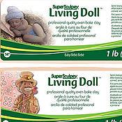 Материалы для творчества ручной работы. Ярмарка Мастеров - ручная работа НАБОР Living Doll (пробники (3х90гр)) начинающего кукольника -. Handmade.