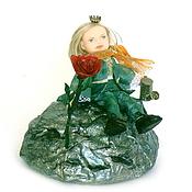 Куклы и игрушки ручной работы. Ярмарка Мастеров - ручная работа Кукла-миниатюра Маленький принц на Заказ. Handmade.
