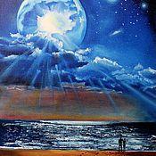 Картины и панно ручной работы. Ярмарка Мастеров - ручная работа Картина маслом  Планета. Handmade.