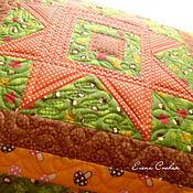 Для дома и интерьера ручной работы. Ярмарка Мастеров - ручная работа Наволочка стеганая. Handmade.