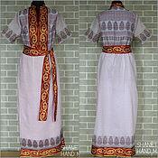Одежда handmade. Livemaster - original item Dress ethnic summer feminine in gender. Handmade.
