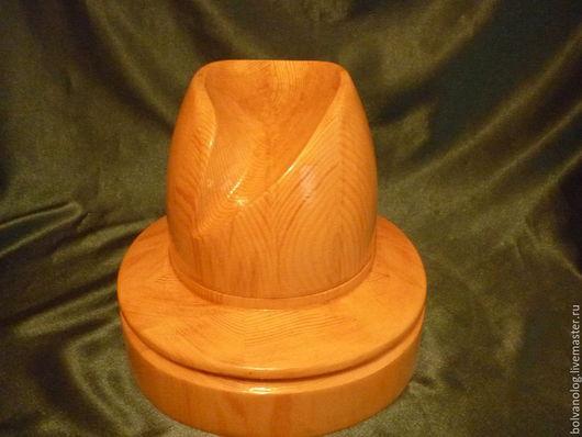 Манекены ручной работы. Ярмарка Мастеров - ручная работа. Купить Болванка-шляпка - 28. Handmade. Болванка, дерево