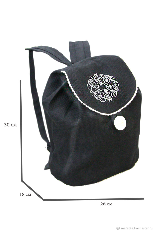 Льняной рюкзак, Рюкзаки, Иваново,  Фото №1