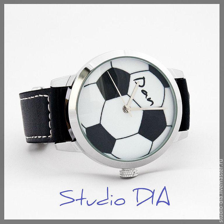 1a017da9634a Часы. Наручные Часы. Часы Под Заказ. Оригинальный Дизайнерские Часы Под  Заказ - Футбольный · Студия Дизайнерских Часов DIA.
