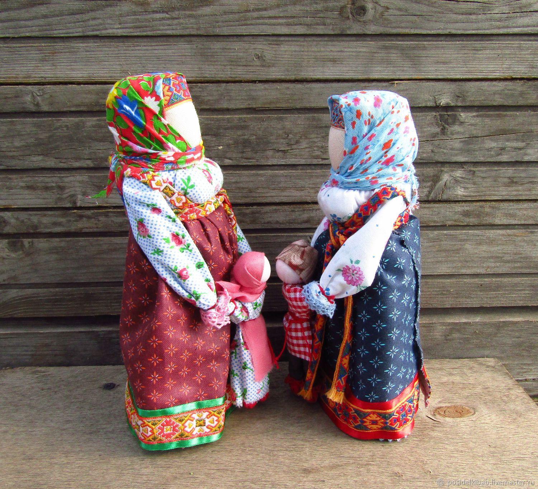 Народная кукла Ведучка-ведущая по жизни, Народная кукла, Фрязино,  Фото №1