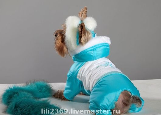 """Одежда для собак, ручной работы. Ярмарка Мастеров - ручная работа. Купить Комбинезон """"Норд"""". Handmade. Одежда для собак, Йоркширский терьер"""