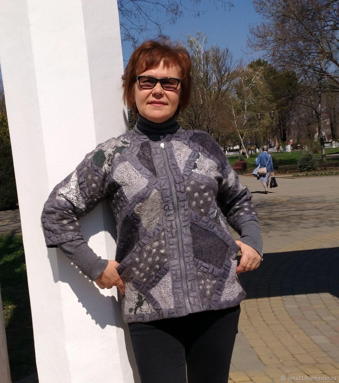 Жакет в лоскутной технике, Жакеты, Раменское,  Фото №1