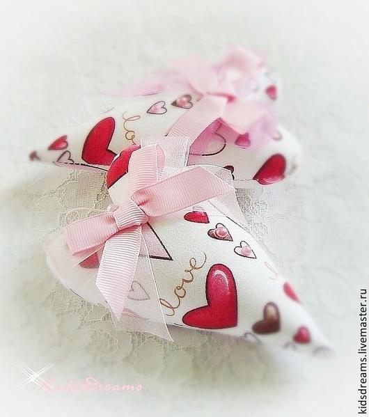Подарки для влюбленных ручной работы. Ярмарка Мастеров - ручная работа. Купить Сердечки большой  Любви. Handmade. Фуксия, тильда сердце