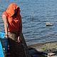 Кофты и свитера ручной работы. кофточка Коралловый блюз вязаная женская летняя авторская. Евгения  Черевкова (EvgeniaManKi). Ярмарка Мастеров.