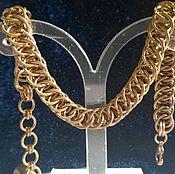 Украшения ручной работы. Ярмарка Мастеров - ручная работа Полуперсидский бронзовый браслет. Handmade.