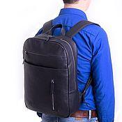 Сумки и аксессуары handmade. Livemaster - original item Men`s backpack made of genuine leather