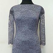 Одежда ручной работы. Ярмарка Мастеров - ручная работа 355:Кружевное вечернее платье, коктейльное платье с кружевом, ретро. Handmade.