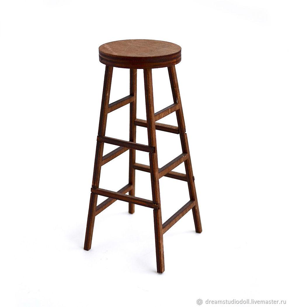 Bar stool for dolls.