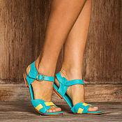 Обувь ручной работы handmade. Livemaster - original item Sandals made of genuine leather Jess II. Handmade.