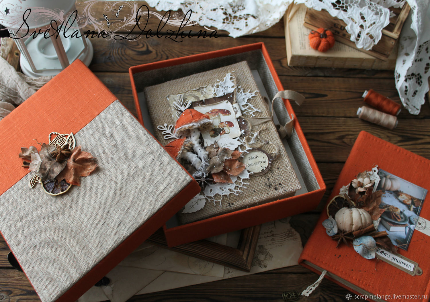 Gift box red for the book, Gift wrap, Tyumen,  Фото №1