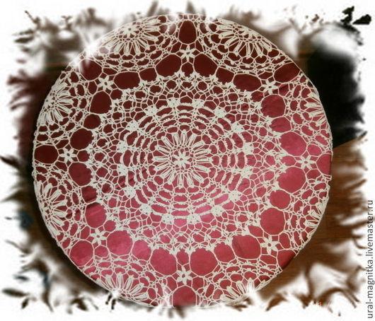 """Текстиль, ковры ручной работы. Ярмарка Мастеров - ручная работа. Купить """"Настроение"""". Handmade. Нарядная скатерть, подарок на новый год"""