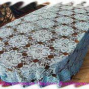 Для дома и интерьера handmade. Livemaster - original item Blue tablecloth. Handmade.