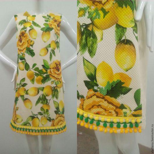 Платья ручной работы. Ярмарка Мастеров - ручная работа. Купить платье. Handmade. Модная одежда, хлопок итальянский