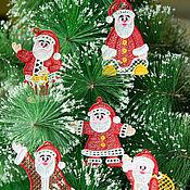 Подарки к праздникам handmade. Livemaster - original item Grandparents Морозики2) five pieces.. Handmade.