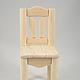 Кукольный дом ручной работы. Кукольный стул. HAND MADE «KRiS». Интернет-магазин Ярмарка Мастеров. Стульчик, дерево сосна