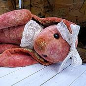 """Куклы и игрушки ручной работы. Ярмарка Мастеров - ручная работа Зайка """"Малиновая пенка"""". Handmade."""