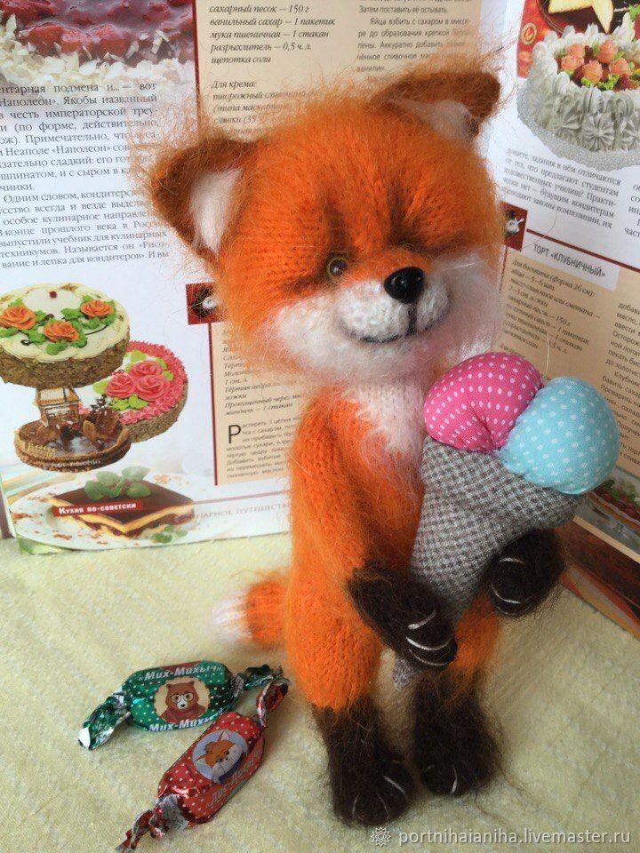 Апельсинковый лисёнок, Мягкие игрушки, Златоуст,  Фото №1
