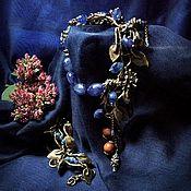 Украшения handmade. Livemaster - original item Set necklace and bracelet