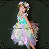 "Работы для детей, handmade. Livemaster - original item Copy of Copy of Baby dress ""Blue tape"" 2in1 Art.433. Handmade."