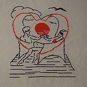 Картины и панно ручной работы. Ярмарка Мастеров - ручная работа Курортный роман. Handmade.