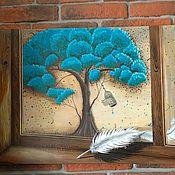 """Картины и панно ручной работы. Ярмарка Мастеров - ручная работа """"Взгляд на внутренний мир"""". Handmade."""