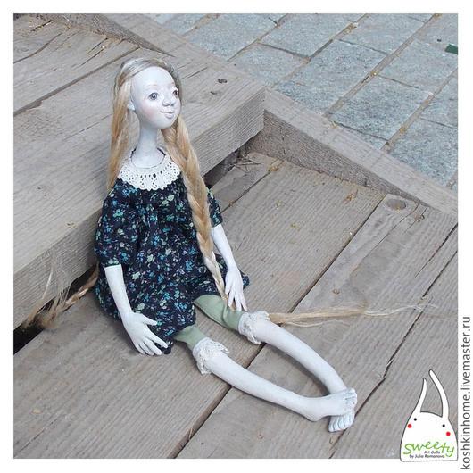 Коллекционные куклы ручной работы. Ярмарка Мастеров - ручная работа. Купить Агриппина. Handmade. Разноцветный, авторская игрушка