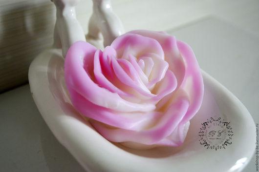 """Мыло ручной работы. Ярмарка Мастеров - ручная работа. Купить Сердечная роза из коллекции """"Нежнее нежного"""". Handmade. Бледно-розовый"""