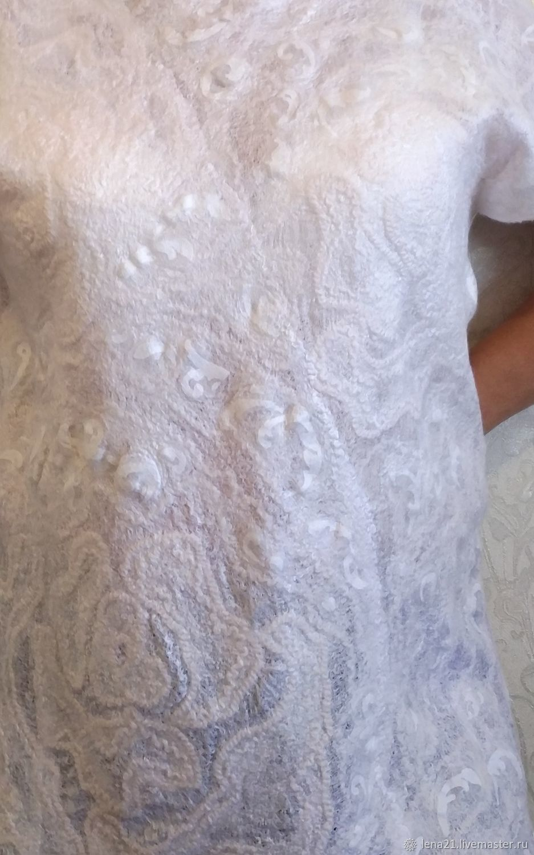 Ажурная белая блуза, Блузки, Раменское,  Фото №1