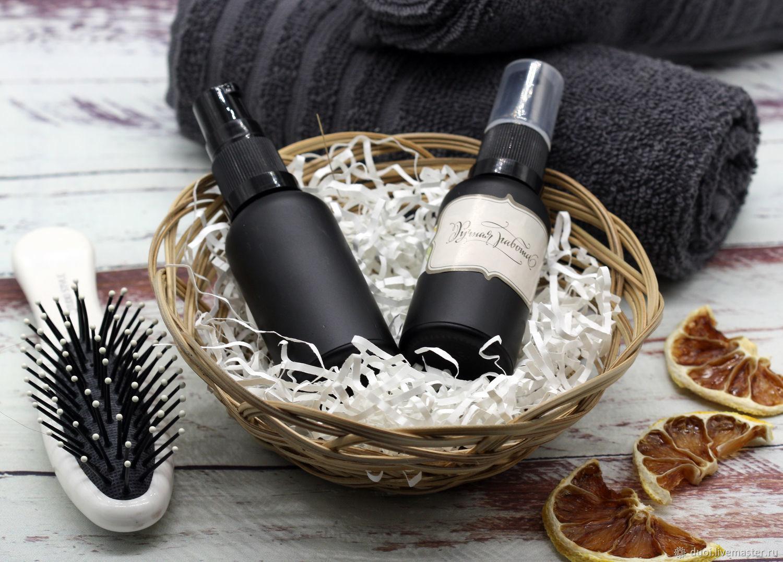 Масла и смеси ручной работы. Ярмарка Мастеров - ручная работа. Купить Масло сухое для волос Аргановое. Handmade. Иланг-иланг