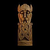 """Для дома и интерьера handmade. Livemaster - original item Один узор """"скандинавские боги"""". Handmade."""