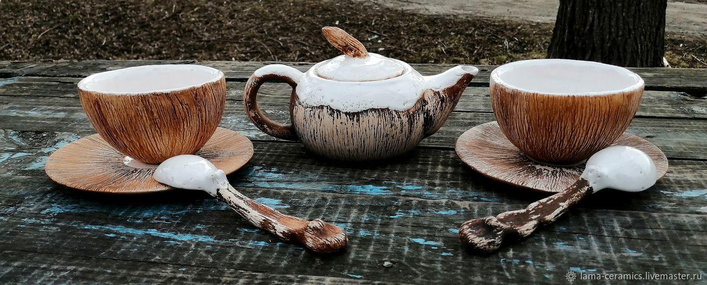красивые чашки с блюдцем для чая