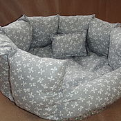 Для домашних животных, ручной работы. Ярмарка Мастеров - ручная работа Отличные лежаночки-диванчики. Handmade.