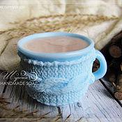 """Подарки к праздникам ручной работы. Ярмарка Мастеров - ручная работа """"Чашка какао/кофе"""", мыло ручной работы. Handmade."""