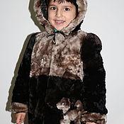 Работы для детей, handmade. Livemaster - original item MUTTON COAT ON BOY. Handmade.