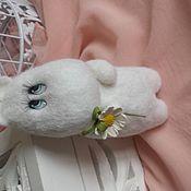 Куклы и игрушки handmade. Livemaster - original item Moomin with flower. Handmade.