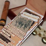 """Открытки ручной работы. Ярмарка Мастеров - ручная работа Открытка для мужчин """"Мушкетеры""""(конверт для денег,мужской подарок). Handmade."""