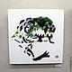 """Элементы интерьера ручной работы. Ярмарка Мастеров - ручная работа. Купить Панно на стену """" Тираннозавр """". Handmade. Картина"""