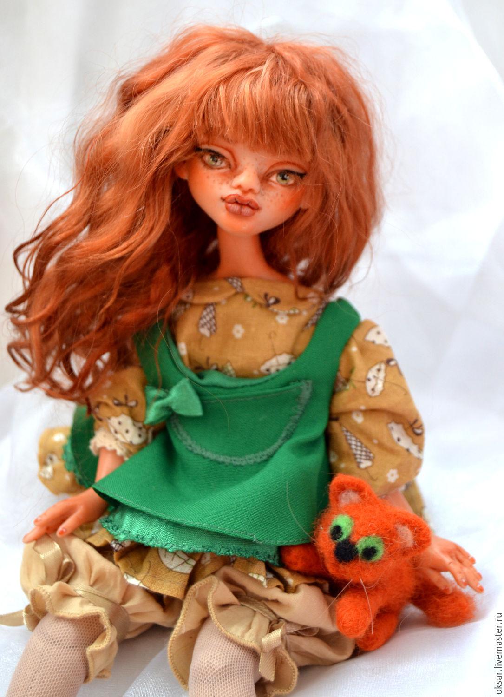 Redhead dolls zelandica. Artdoll, Folk Dolls, Stary Oskol,  Фото №1