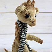 Куклы и игрушки ручной работы. Ярмарка Мастеров - ручная работа Жираф Мартин коллекционная игрушка. Handmade.