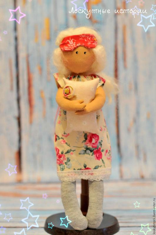 Человечки ручной работы. Ярмарка Мастеров - ручная работа. Купить Кукла Снежинка. Handmade. Комбинированный, интерьерная кукла