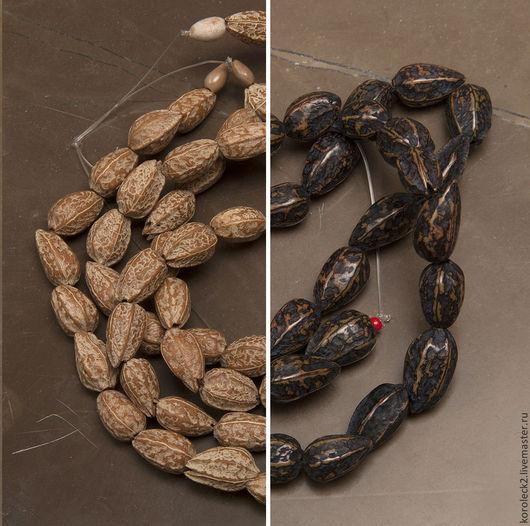 Для украшений ручной работы. Ярмарка Мастеров - ручная работа. Купить Бусины из семян Pagsahingin. Handmade. Бусины
