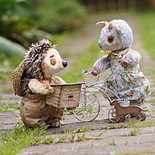 Куклы и игрушки ручной работы. Ярмарка Мастеров - ручная работа Ёжик Федя. (Друзья Тедди). Handmade.