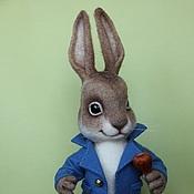 Куклы и игрушки ручной работы. Ярмарка Мастеров - ручная работа Кролик Питер. Handmade.
